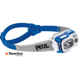 Petzl Swift RL Linterna frontal, blue